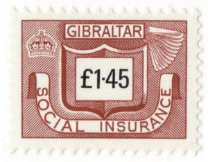 (I.B) Gibraltar Revenue : Social Insurance £1.45