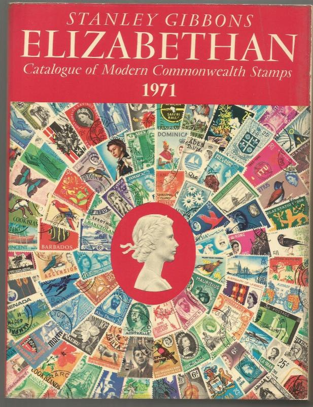 Stanley Gibbons ELIZABETHAN catalog of Modern Commonwealth Stamps 1971