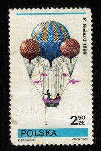 1981, Balloon, 2.50 ZL (Т-9471)
