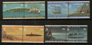 TRISTAN DA CUNHA SG611/8 1997 VISUAL COMMUNCATIONS MNH