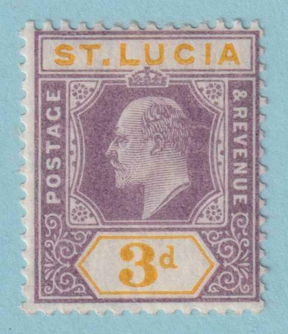 ST LUCIA 53  MINT HINGED OG * NO FAULTS EXTRA FINE!