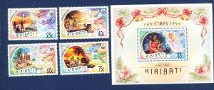KIRIBATI - Scott 613-617 - FVF MNH - Christmas - 1993