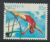 Australia SG 1190  SC# 1123 Diving  Used / FU  see details