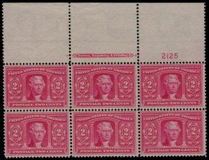 MALACK 324 SUPERB OG NH, LARGE TOP, The Finest Cente..MORE.. pb2864