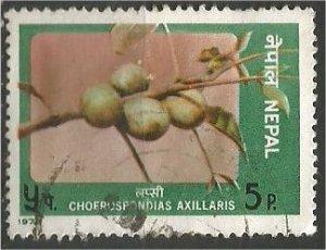 NEPAL, 1978, used 5p, Axillaris Scott 352