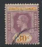 Straits Settlements George V  SG 207 Used