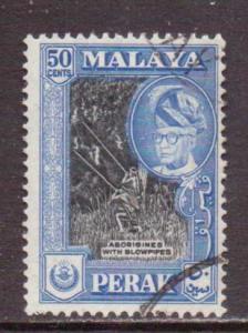 Malaya-Perak   #134  used  (1960)