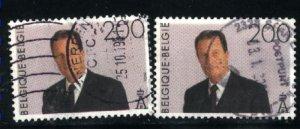 Belgium 1535 x 2   Used 1993-98  PD