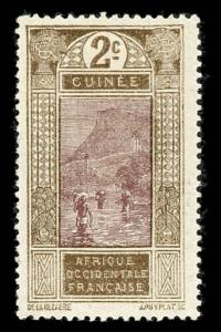French Guinea 64 Unused (MH)