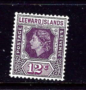 Leeward Is 141 MH 1954 issue