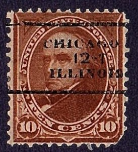 USA 1898-1903 Old Precancel Chicago,12-1 Illinois Only $5.00