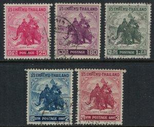 Thailand #304-8  CV $13.45
