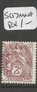 French Alexandria SC 17 MNH (3cpp)