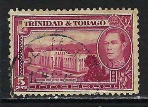 TRINIDAD &TOBAGO 54 VFU 654B-2