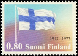 1977 Finland #604-605, Complete Set(2), Never Hinged