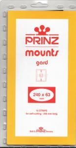 PRINZ 240X63 (10) BLACK MOUNTS RETAIL PRICE $9.50