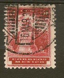 MEXICO STAMP VFU CORREOS MEXICO 30 CENT # ME-15