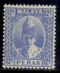 MALAYSIA - Perak GVI SG113, 12c bright ultramarine, M MINT. Cat £30.
