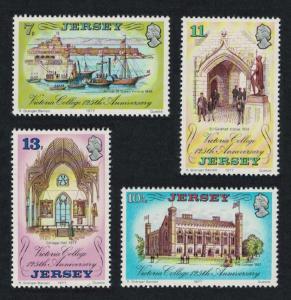 Jersey 125th Anniversary of Victoria College 4v SG#179-182