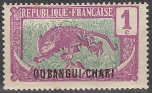 Ubangi-Chari #23 F-VF Unused (V3109)
