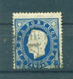 Portuguese India sc# 178 (2) used cat value $4.50