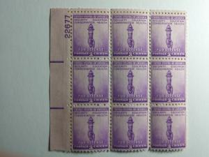 SCOTT # 901 MINT NEVER HINGED GEM PLATE BLOCK 9 !!! GREAT STUFF !!