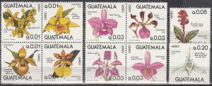 Guatemala #C655a, C659a, C660-1 MNH  CV $60.50 (A17776)