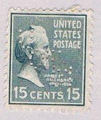 United States Buchanan 15c (AP117907) ...