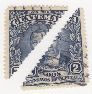 Guatamala, SW475, Used, 1941, Halved