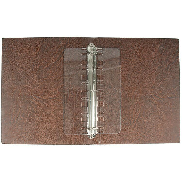 Brown Lighthouse Vario Stock Sheet Stamp Album 3-Ring Binder & Slipcase