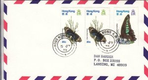 1979, 1st Flt. Hong Kong to Los Angeles, CA, See Remark (30477)