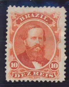 Brazil Stamp Scott #53, Mint