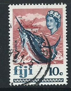 Fiji   QEII SG 399  VFU