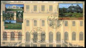 329-330 UN - Geneva Schonbrunn Palace OFDC