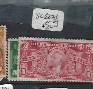 HAITI  (P1606B)    SC 322-3    MOG