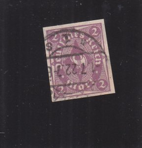 Germany: Sc #185a, Imperf, Used (S18323)