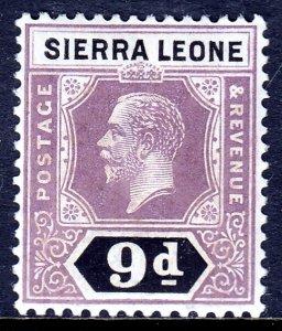 Sierra Leone - Scott #132 - MH - SCV $3.25