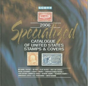 Used 2006 Scott Specialized Catalogue of Stamps and Covers CD