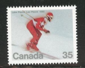 Canada Scott 848 MNH** 1980 Skiing stamp