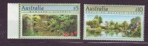 J23788 JLstamps 1989-90 australia part of set mnh #1132,1134 views