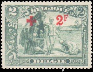 Belgium #B45, Incomplete Set, 1918, Hinged