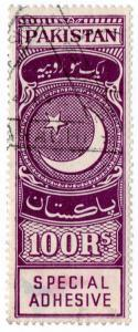 (I.B) Pakistan Revenue : Special Adhesive 100R