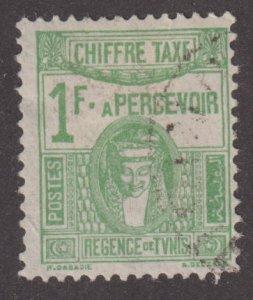 Tunisia J24 Postage Due 1922