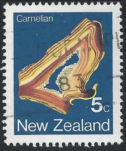 New Zealand #759 5c Carnelian