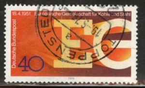 Germany Scott 1209 Used 1976 stamp