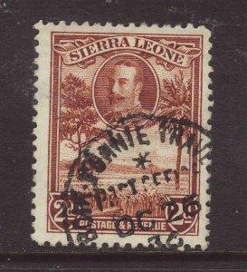 1932 Sierra Leone 2d BOIA-YONNIE T.P.O CDS F/U SG158