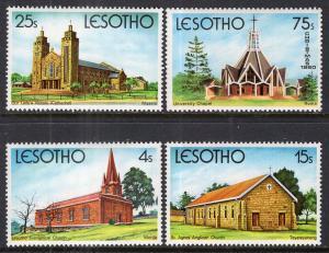 Lesotho 314-317 MNH VF