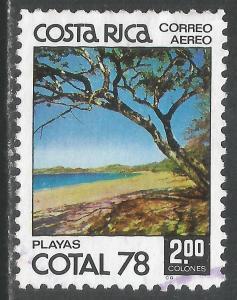 COSTA RICA C708 VFU O060-2