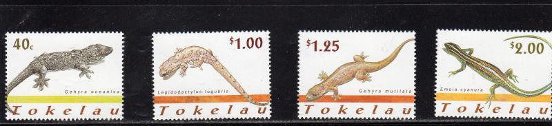 Tokelau  LIZARDS  MNH