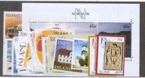 Iceland Scott 814-833 Mint NH (1996 Year Set)